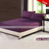 Dark Purple Stripe Bedsheet